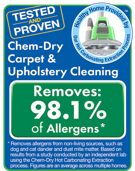 chem-dry carpet cleaning in chino hills removes allergens and bacteria