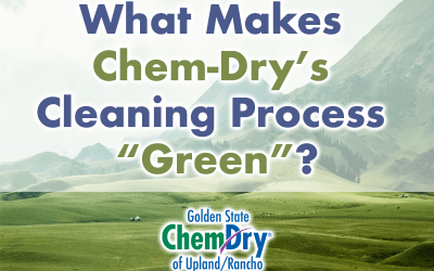 What Makes Chem-Dry's Process Green?